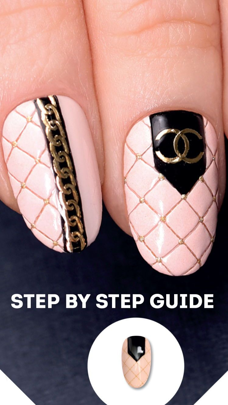 Step By Step Tutorial That Allows To Make 3d Nail Art Design Do 3d