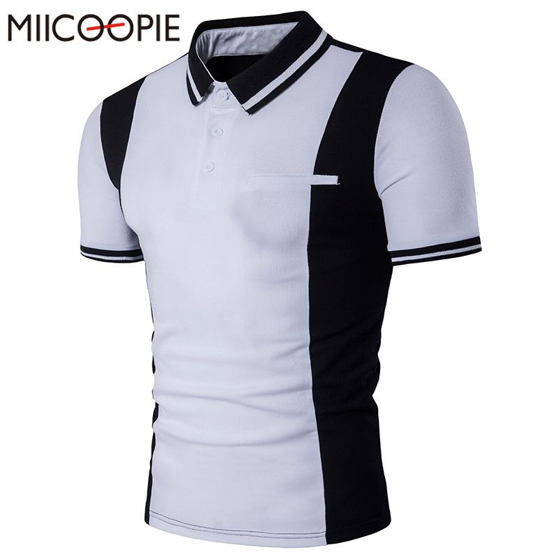 88158f3890 Click to Buy    New Summer Men Polo Shirt Brands Short Sleeve Men s Casual  Business Polo Shirt Slim Fit Turn Down Collar Polo Homme Men Top Tees   Affiliate