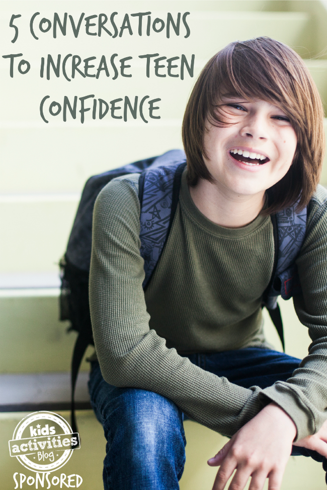 Photo of 5 Conversations to Increase Confidence in Teens