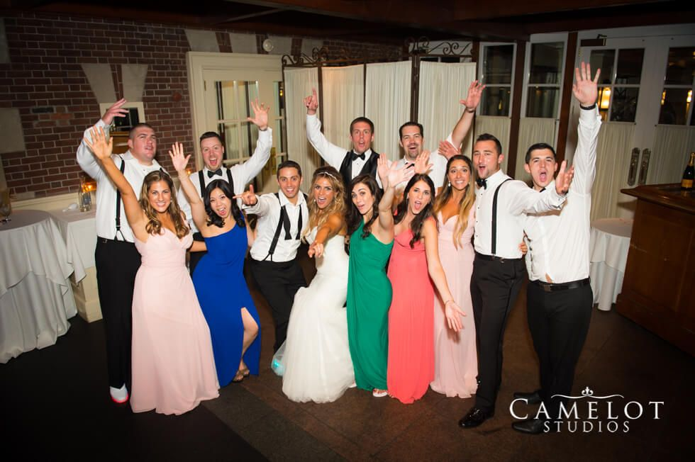 The Loeb Boathouse Central Park bridal party