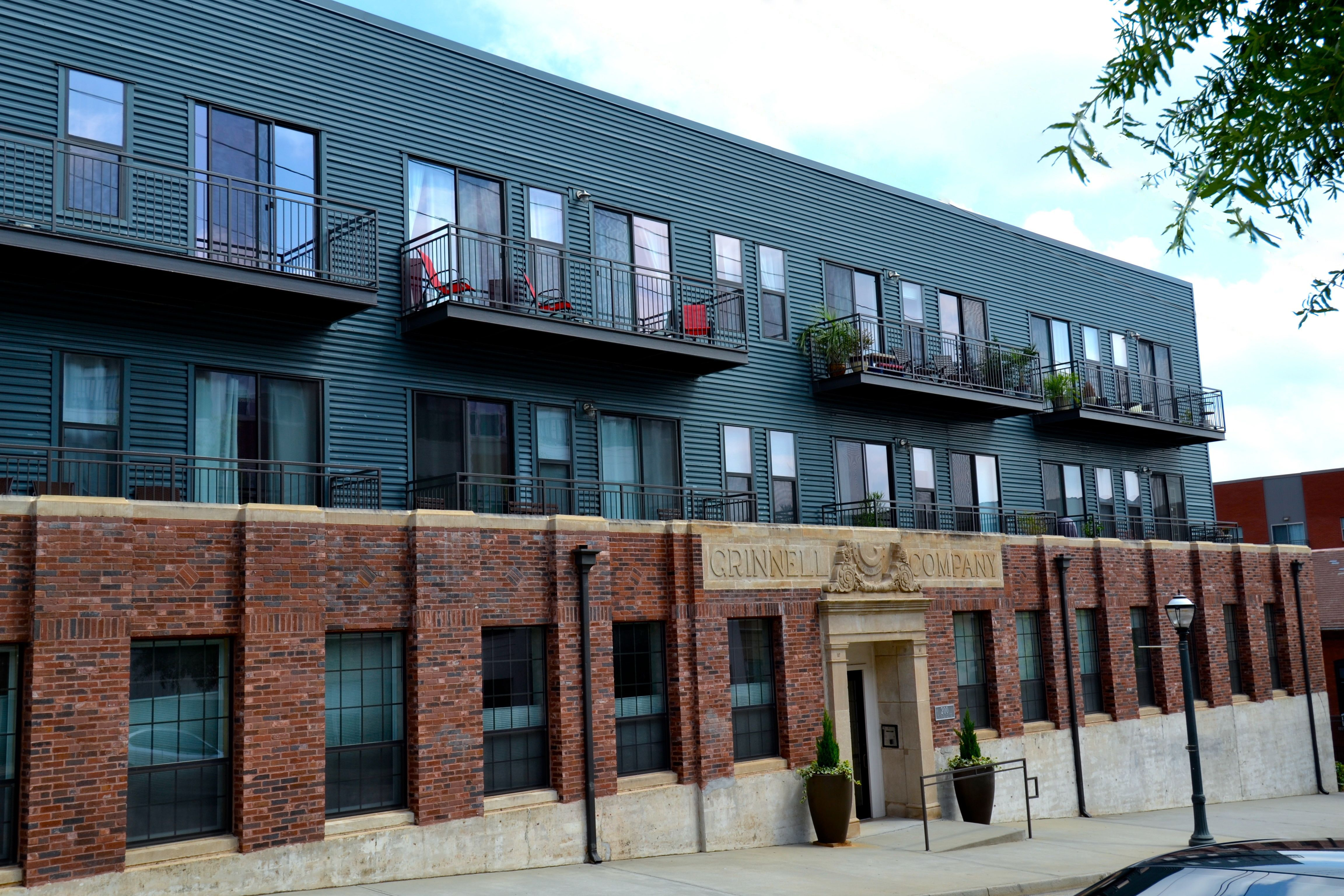Inman Park- Grinnell Lofts- This three story building is ...