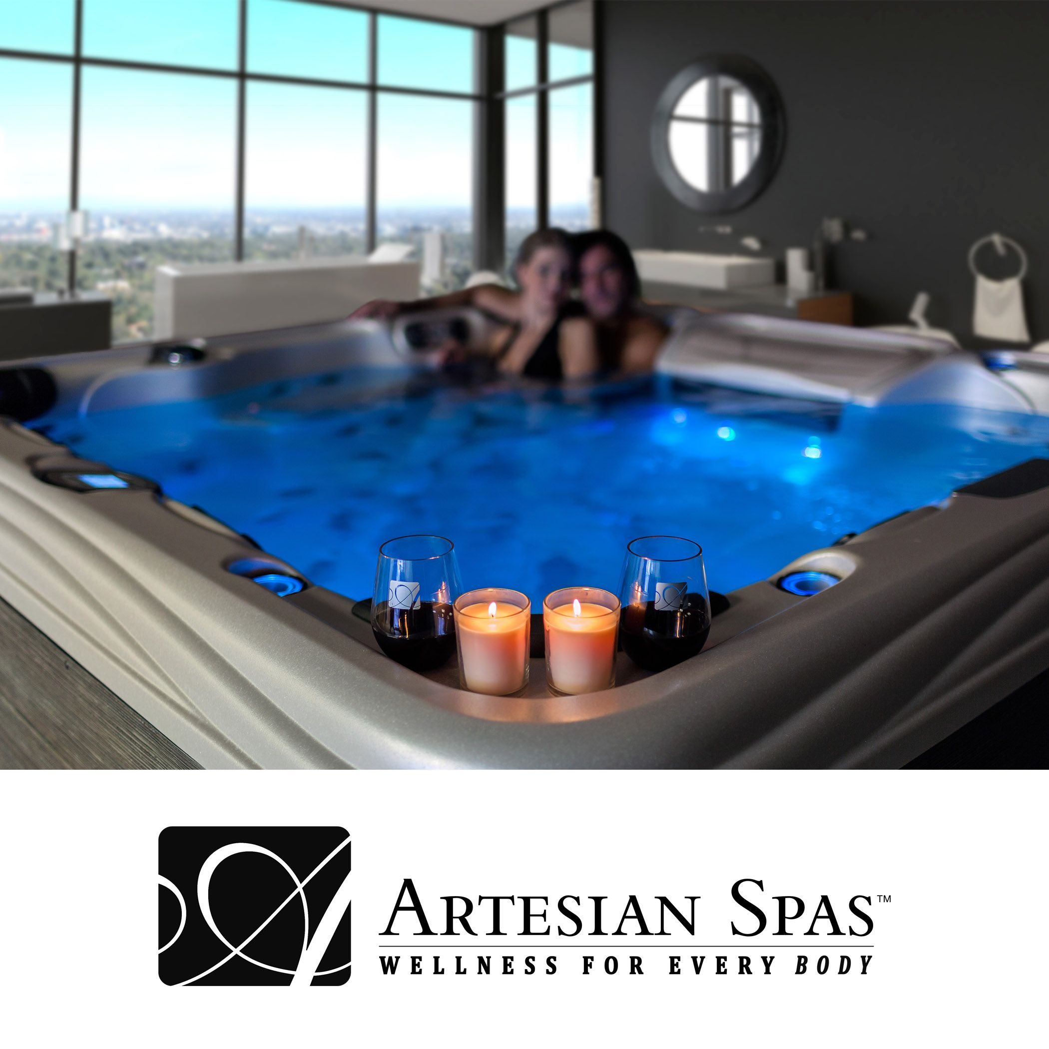 Platinum Elite Hot Tub by Artesian Spas http://artesianspas.com ...