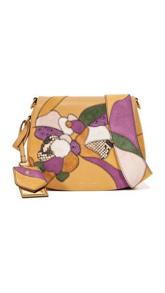 2de3c741ff8 Marc Jacobs Patchwork Small Nomad Saddle Bag