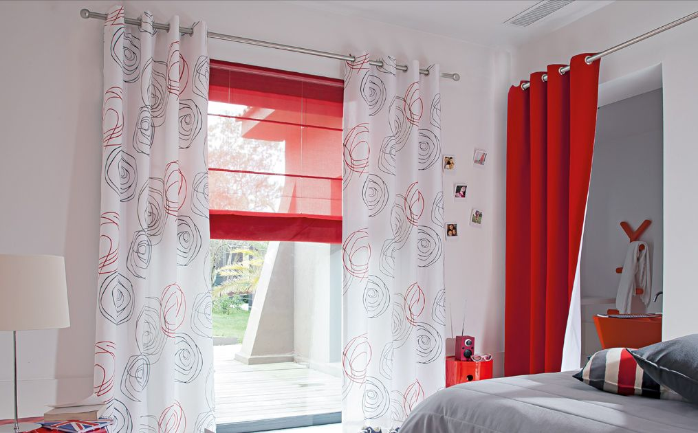 Confection tissu cible curtain n more more pinterest - Www heytens com rideaux ...