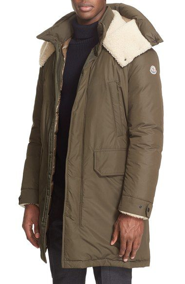 c027008ccc21 Moncler  Grafton  Genuine Shearling Trim Down Parka available at  Nordstrom