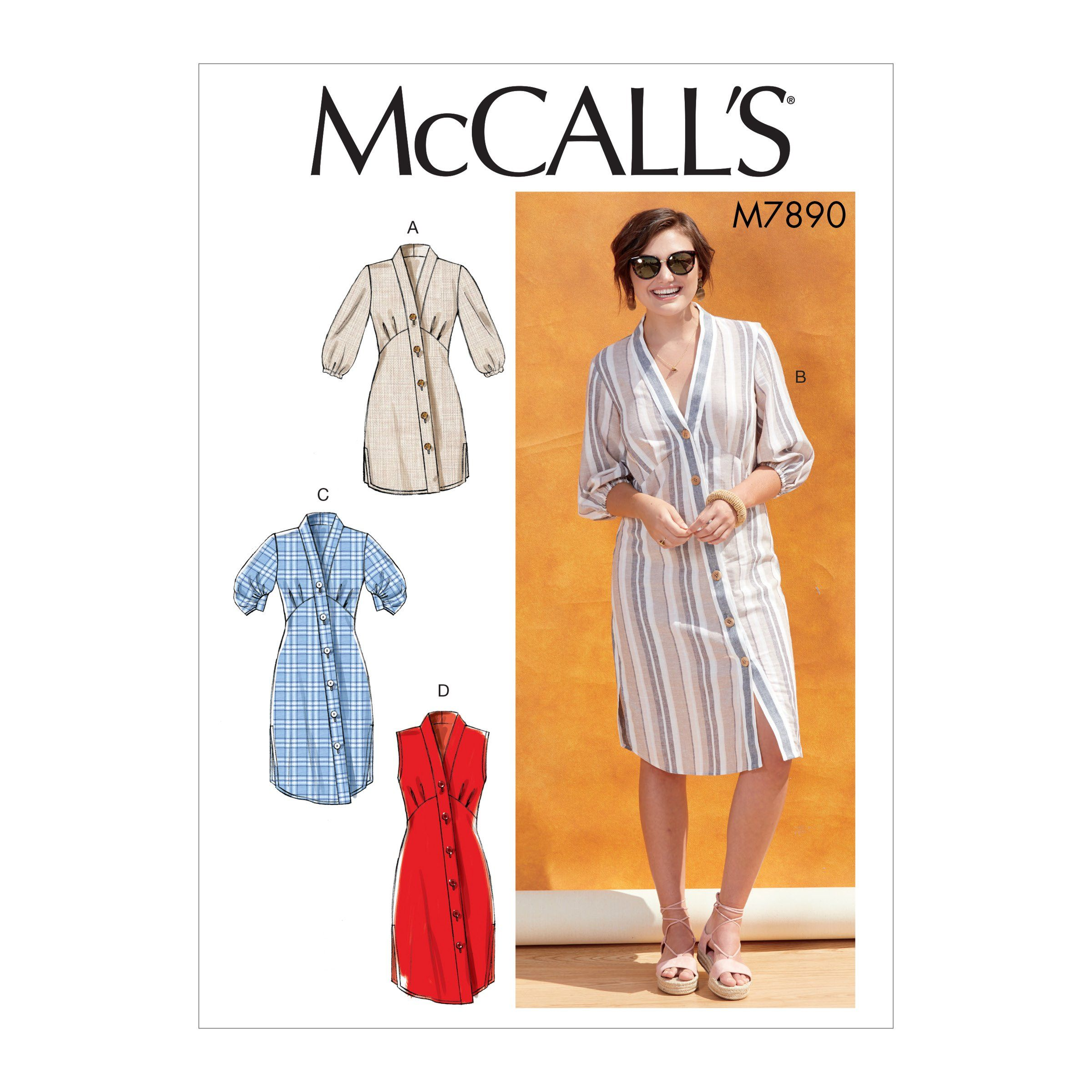 Mccall S M7890 Misses Tunic And Dresses Sewing Dresses Tunic