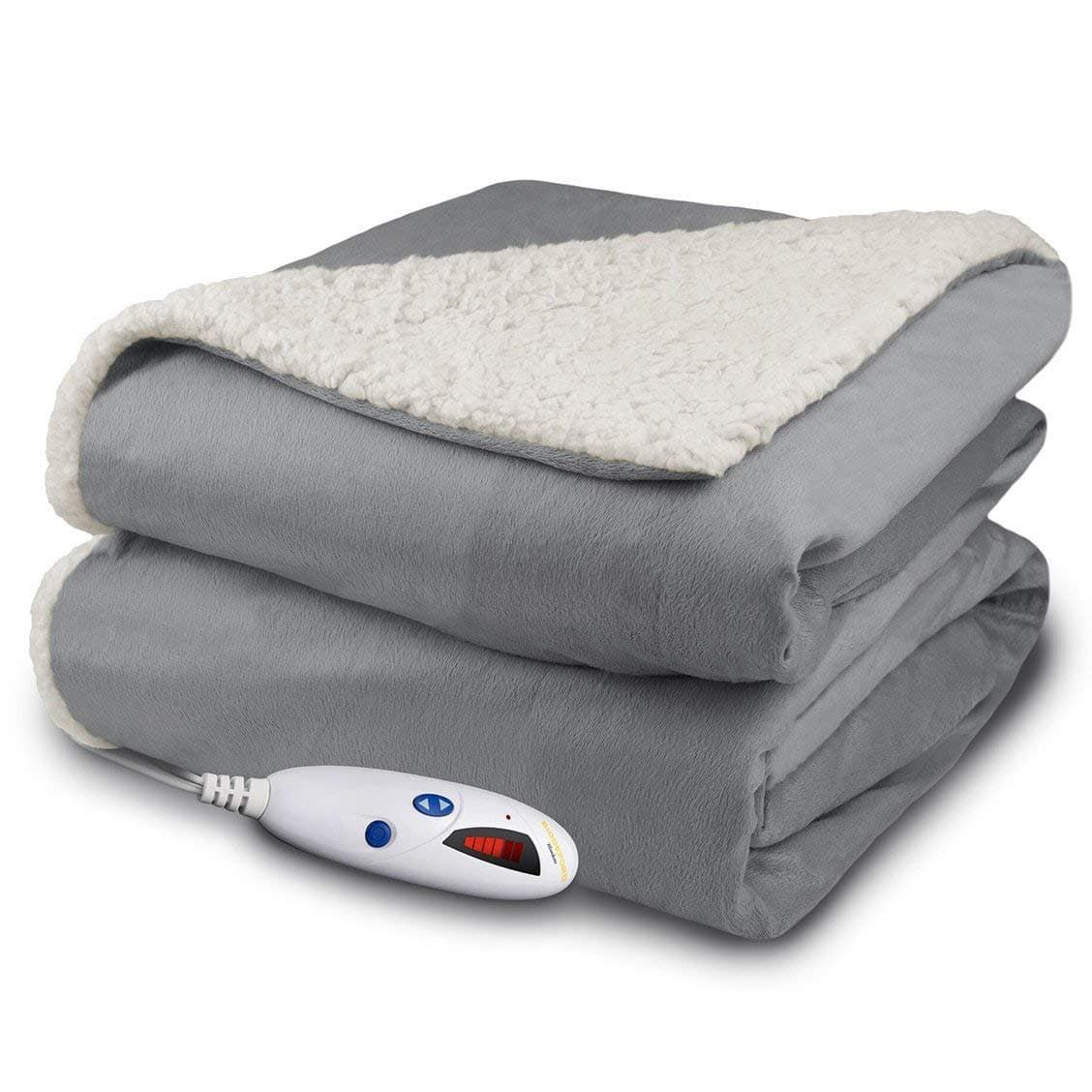 Top 10 Best Electric Heated Throw Blankets In 2018 Reviews