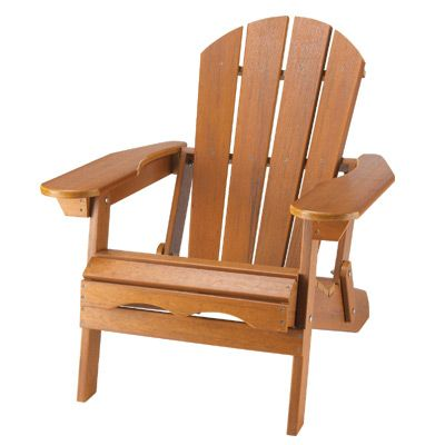 adirondack outdoor chair cedar finish made of high grade polyresin
