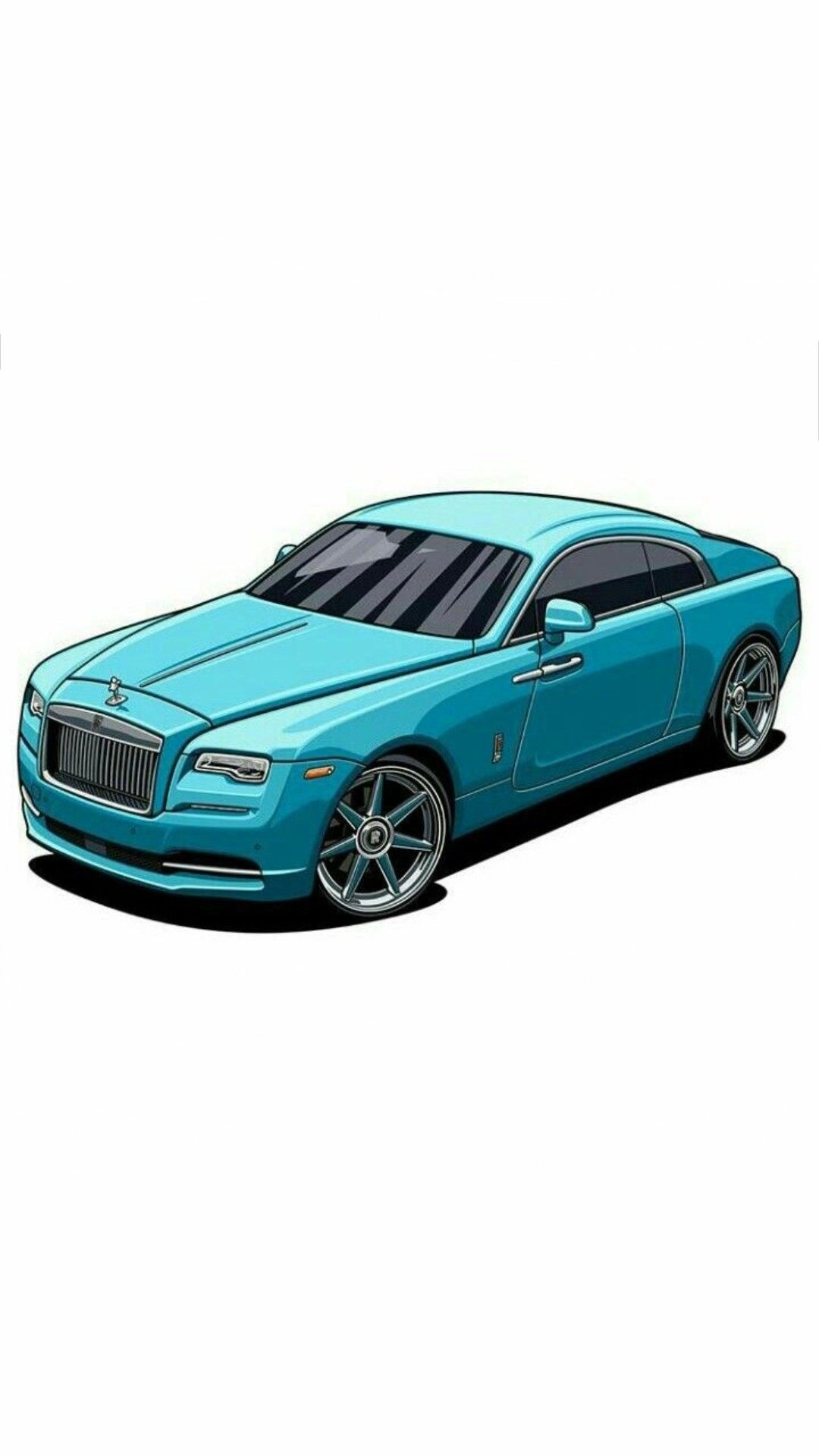 Roles Royce Car Cartoon Luxury Cars Car Posters