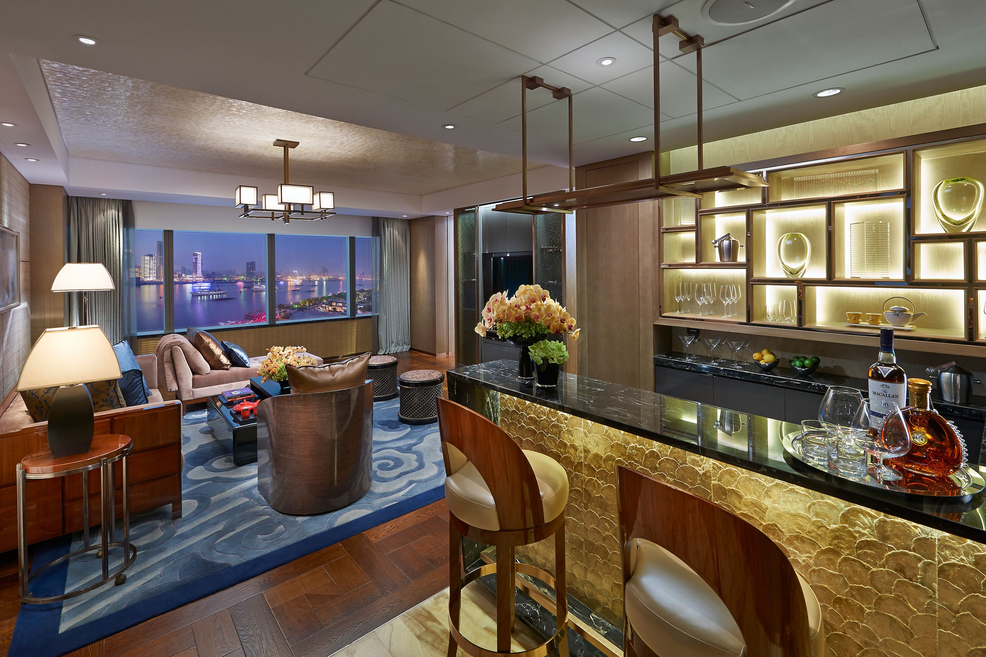 Oriental Suite Bar and Living Room | Hotel Facilities | Pinterest ...