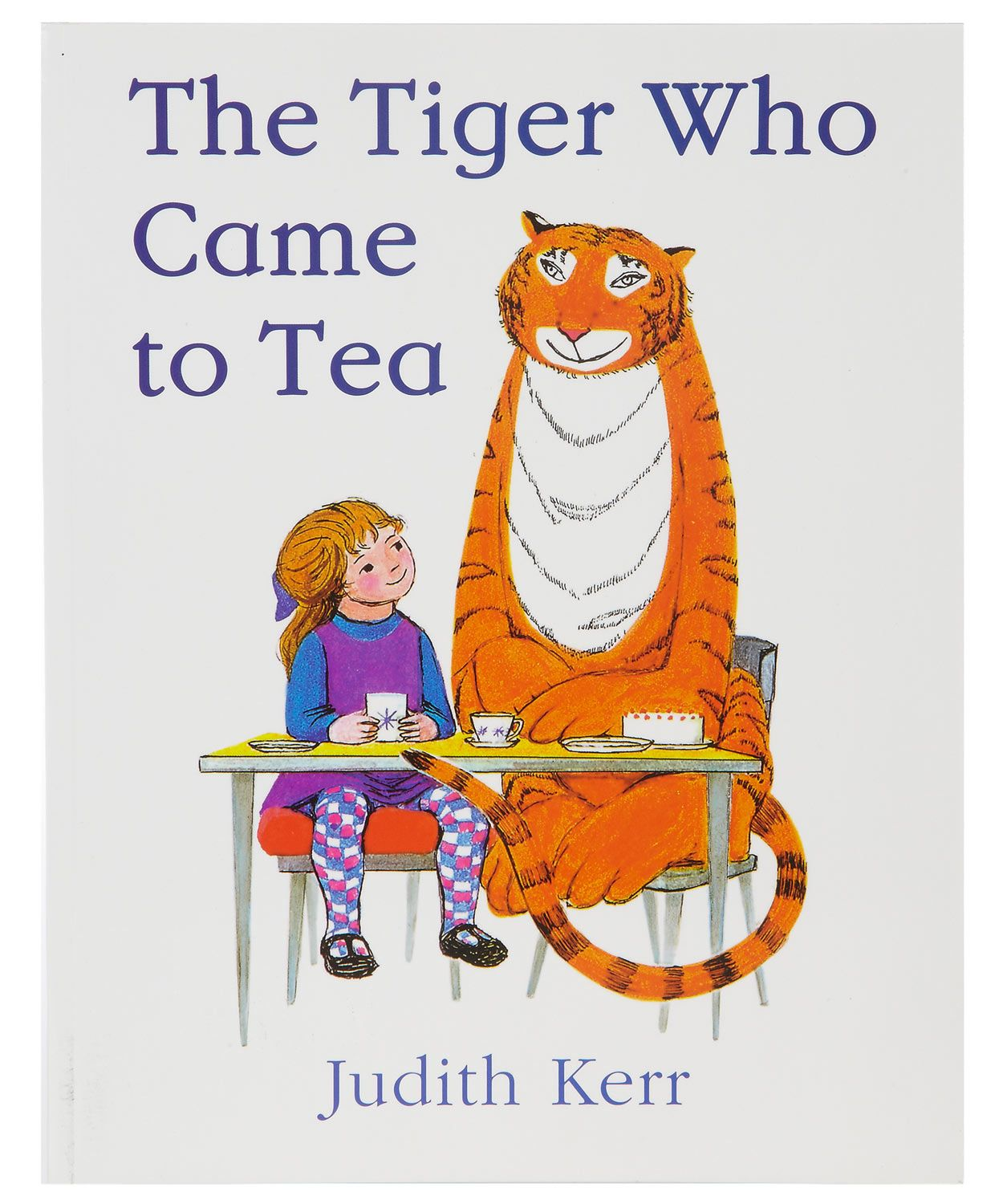 Age Range: 3-7 years old. The Tiger Who Came to Tea written and illustrated  by Judith Kerr. First published 1968. A tiger with a voracious appetite  arrives ...