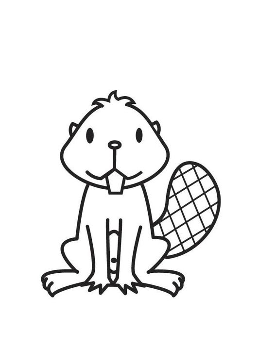 Coloring Page Beaver Coloring Pages Beaver Wood Badge