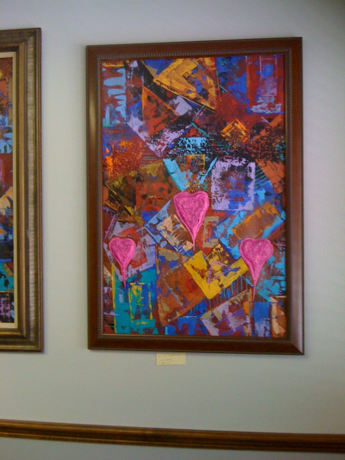 Logic and Emotion 3, at my recent show.