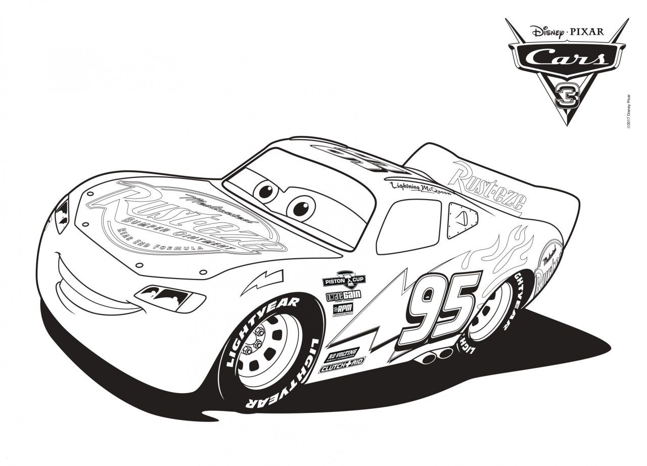 30 Pretty Image Of Lightning Mcqueen Coloring Pages Cars