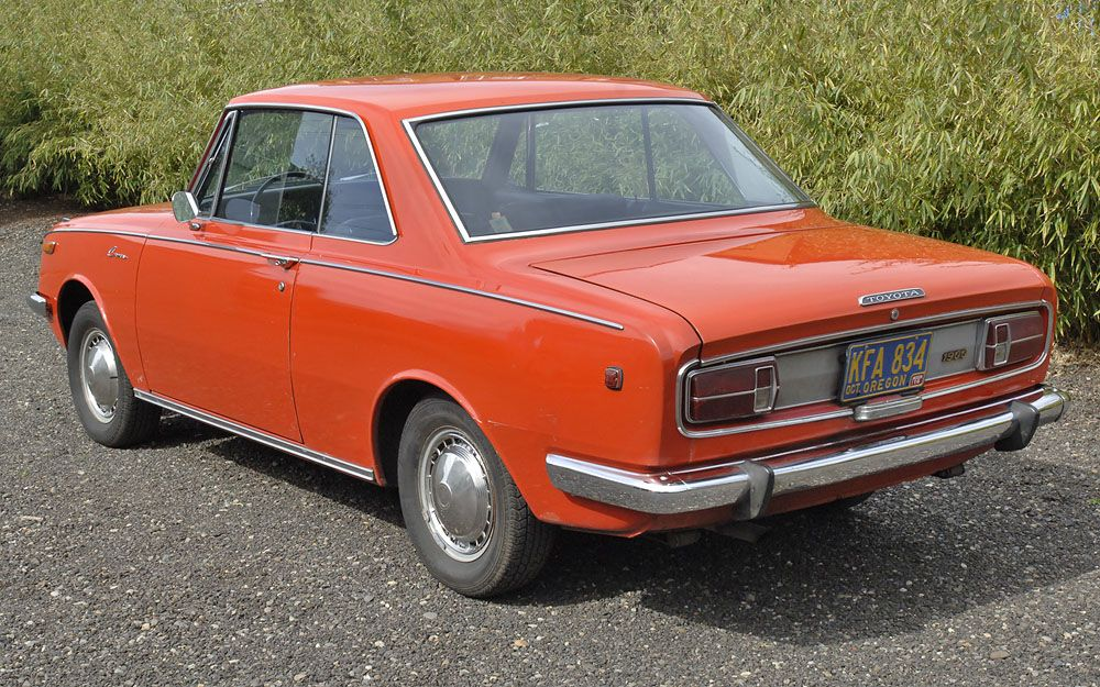 55k mile hardtop coupe 1968 toyota corona 4 speed. Black Bedroom Furniture Sets. Home Design Ideas