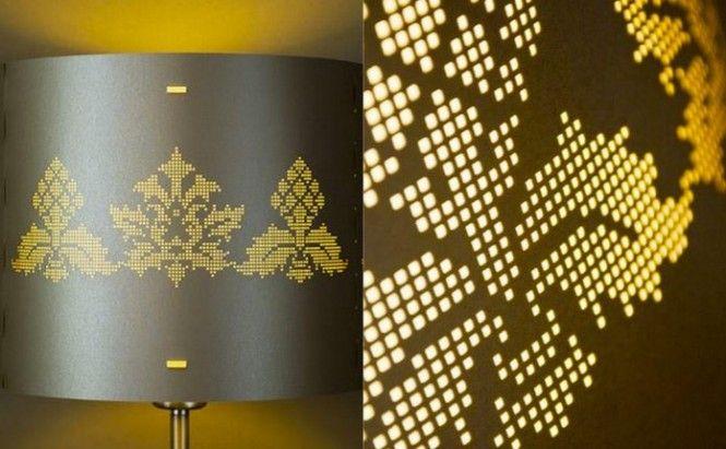 Pixel inspiration in decor