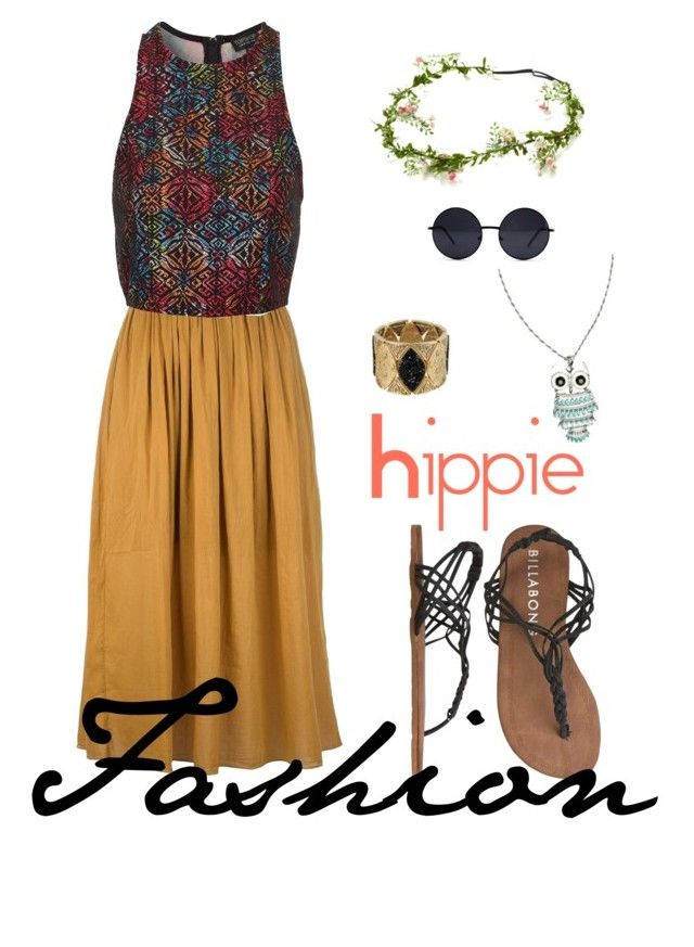 Hippie / moda hippie 60's by izabellmaya on Polyvore featuring polyvore, fashion, style, Topshop, Forte Forte, Billabong, Daniela Farah and River Island