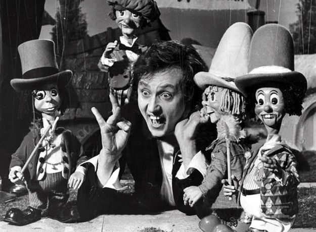 Ken Dodd and the Diddymen. Another puppet show from the 60s. As a child I loved stringed puppets - how they moved and were operated. I especially remember the guy on the left with the monocle who was a toff...