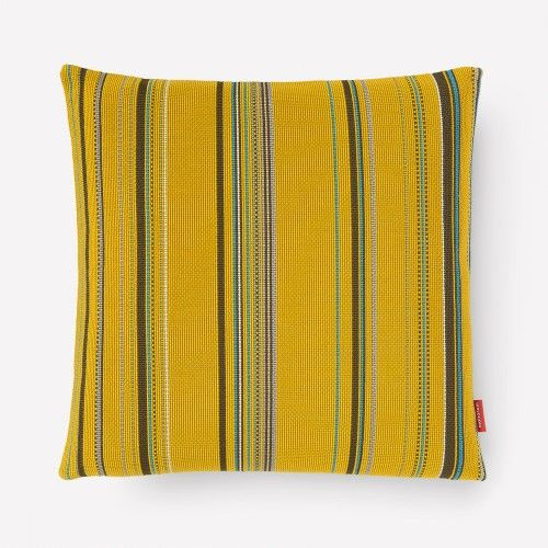 If you love this from Dwell, you'll love the new spring 2014 collection we have coming from El Camino de los Altos.   Lots of fresh color AND artisan made! (Point Pillow  - Citrus from Paul Smith)