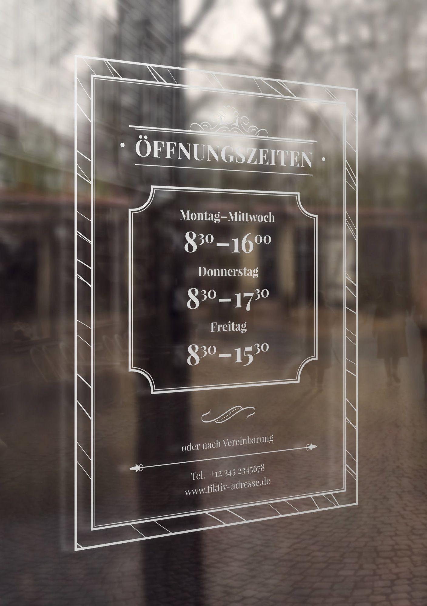 Offnungszeiten Vorlagen Fur Schild Aushang Ladenschilder Restaurant Beschilderung Cafe Schild