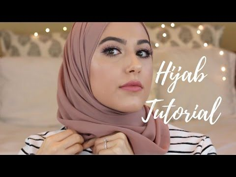 Adlina Anis Hijab Tutorial 26  The Wave Effect  YouTube  v in 2019  Simple hijab tutorial