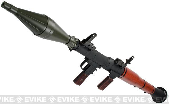 matrix cnc aluminum full metal airsoft rpg grenade