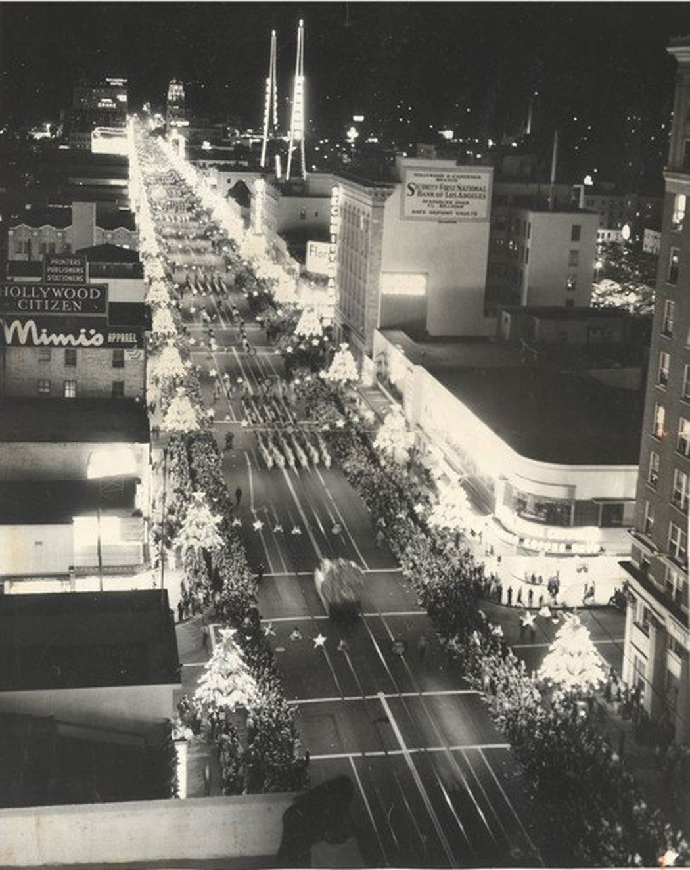 Hollywood Blvd. Los angeles history