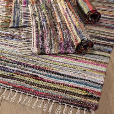 Multi Coloured Rag Rug In 2020 Rag Rugs For Sale Cotton Rag Rug Rag Rug