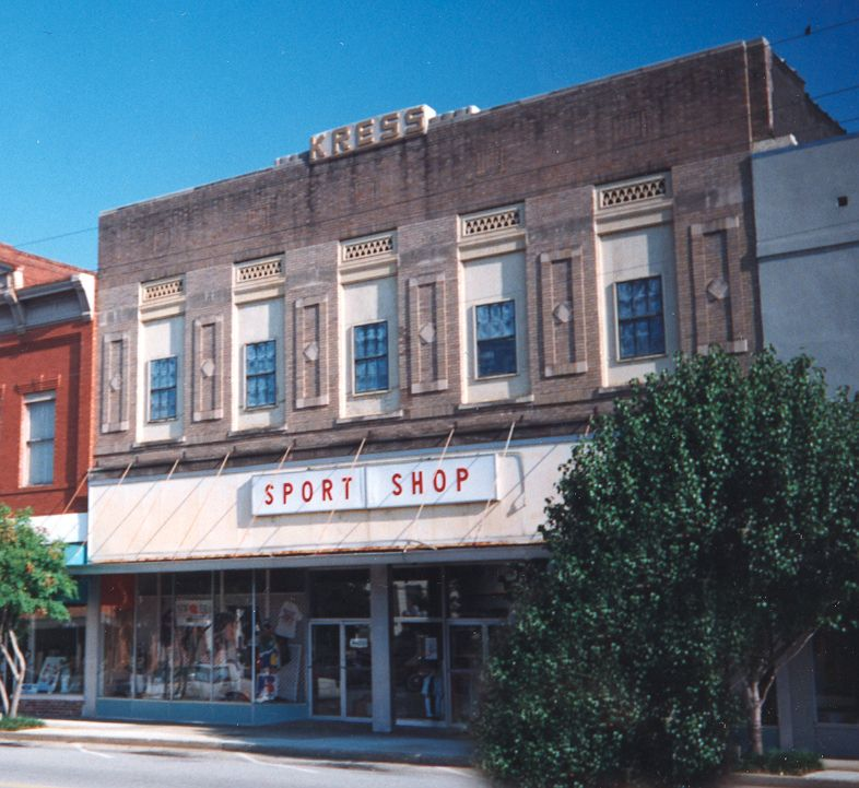 The Sport Shop Waycross, GA (In the former Kress