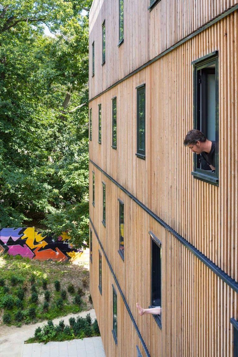 lamas de madera para fachadas wood slats for faades lames bois sur faades medium