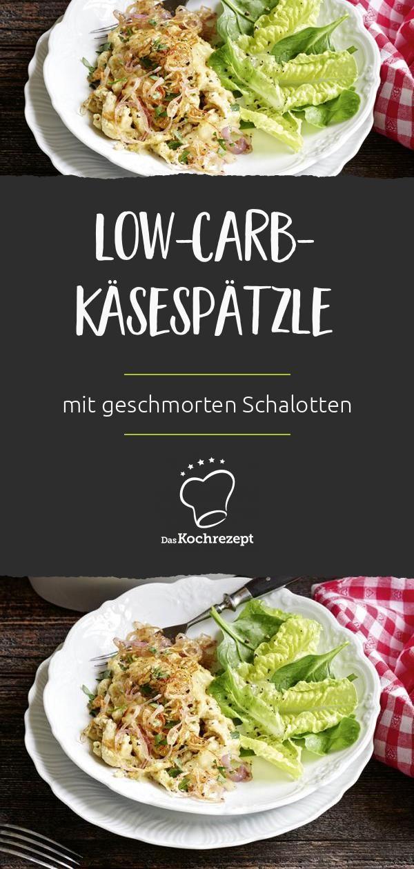 low carb käsespätzle