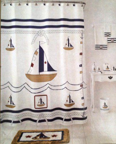 Homewear Sail Away Fabric Shower Curtain Sam Hedaya Corp Http