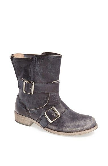 add3c252ceb Free shipping and returns on Cordani  Pavlos  Leather Boot at  Nordstrom.com. Strategic distressing enhances the biker-chic aesthetic of  an Italian leather ...