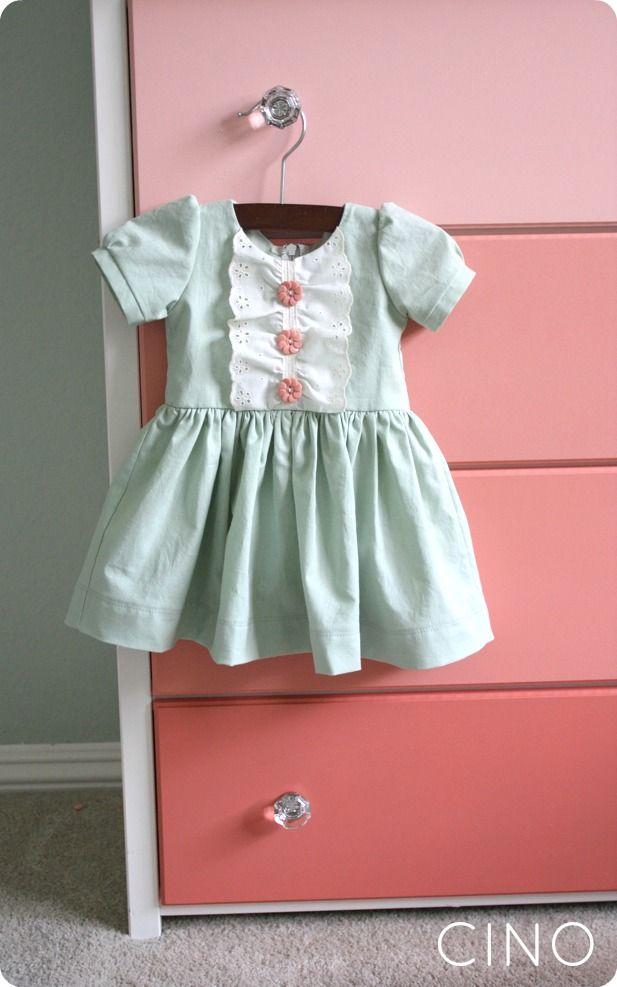Beautiful baby dress by CINO