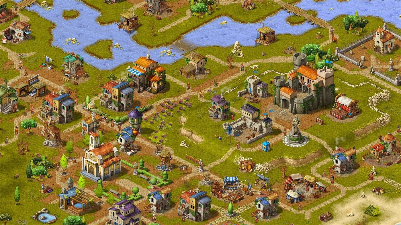 Medieval City Building Comes To Xbox One And Ps4 With The Launch Of Townsmen A Kingdom Rebuilt It Was Only A Few Shor In 2020 Ps4 Or Xbox One Xbox One