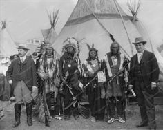 Native American Indian Tribe Vintage 8x10 Reprint Of Old Photo