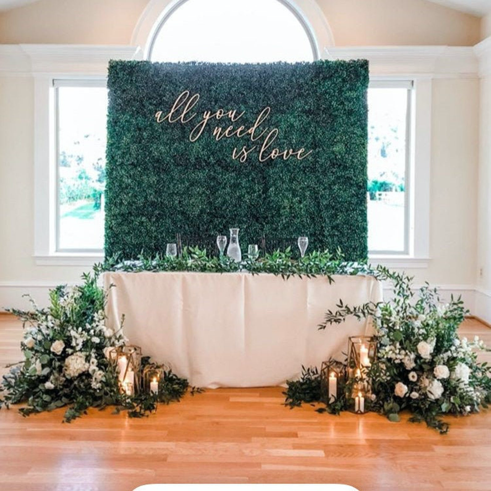 All You Need Is Love Wood Wedding Decor Large Wedding Signs Wedding Backdrop Wedding Quote Large Wedding Signs Wedding Wall Decorations Wedding Decorations