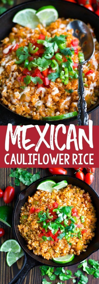 Mexican Cauliflower Rice Recipe - Peas and Crayons