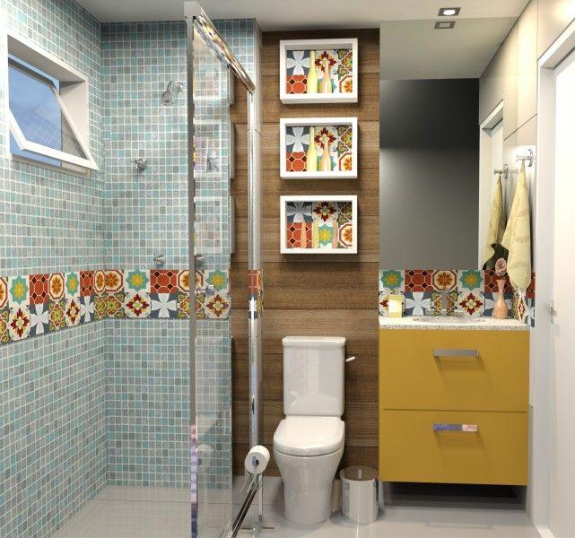 Banheiro - CRIAÇÃO ANDRESSA PERES DESIGNER DE INTERIORES