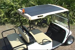 ez go rxv golf cart solar tops solar saves pinterest. Black Bedroom Furniture Sets. Home Design Ideas