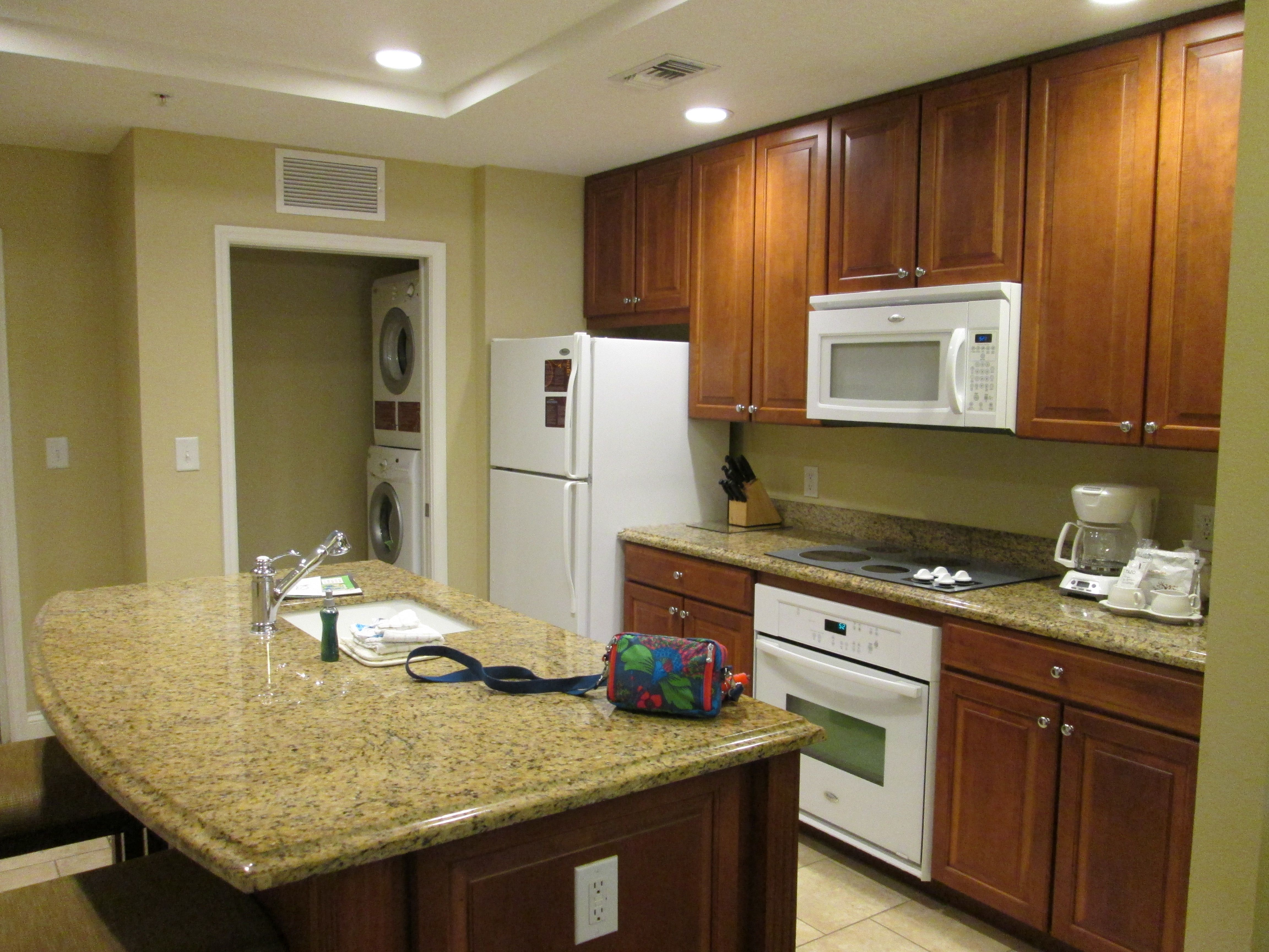 Fab kitchen in our apartment at Sheraton Vistana Villages