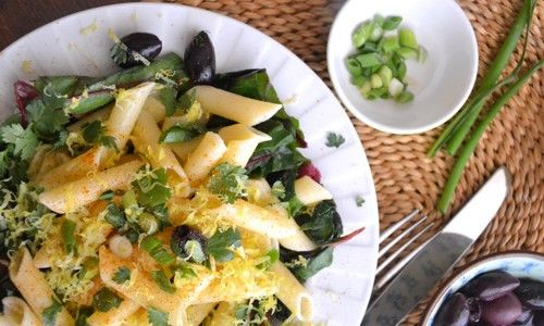 Now anyone can make Swiss Chard Lemon #pasta with this easy to make #recipe   http://goo.gl/0tyAbW