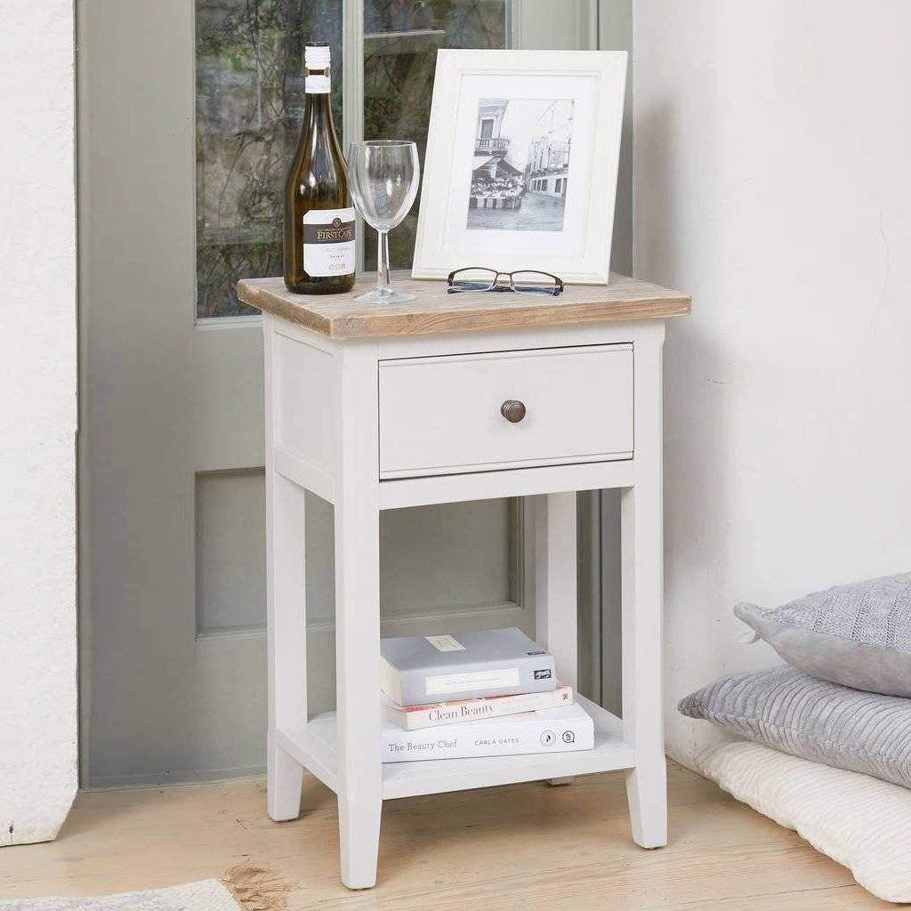 Ridley Grey One Drawer Bedside Lamp Table Grey Painted Furniture Furniture Grey Furniture