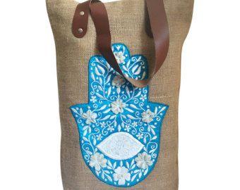 Shopper Handtaschen Strandtaschen von TheWhitePetalsCloset auf Etsy