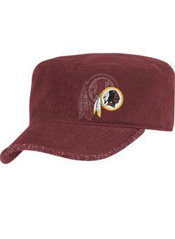 f13677051f1132 LADIES MILITARY REDSKINS HAT | Ladies Hats | Redskins hat, Redskins ...