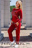 Женский спортивный костюм Louis Vuitton красный   Женские спортивные ... f4cb7b50645