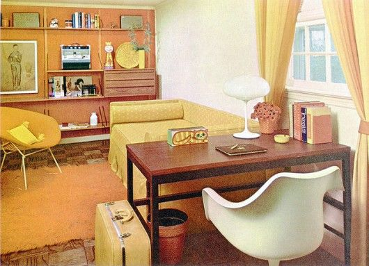 A Mix of Mid Century Elements