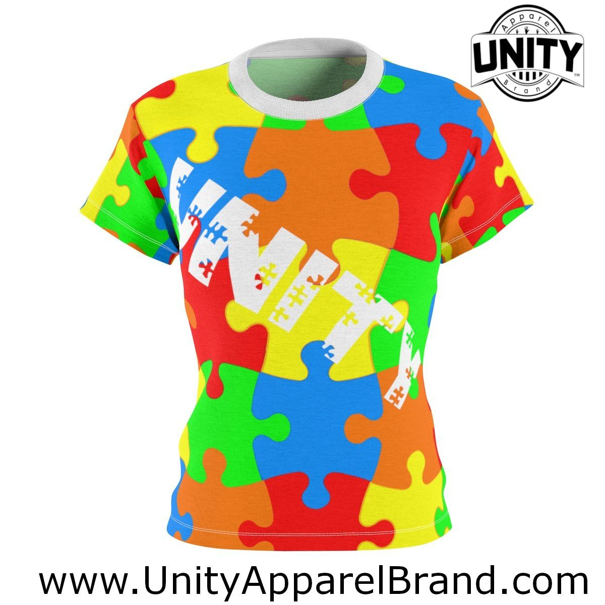 d0b55f1481b Women's Fashion Autism awareness Women's Top clothing Designed For Autism  Awareness charity. Unity Apparel Brand