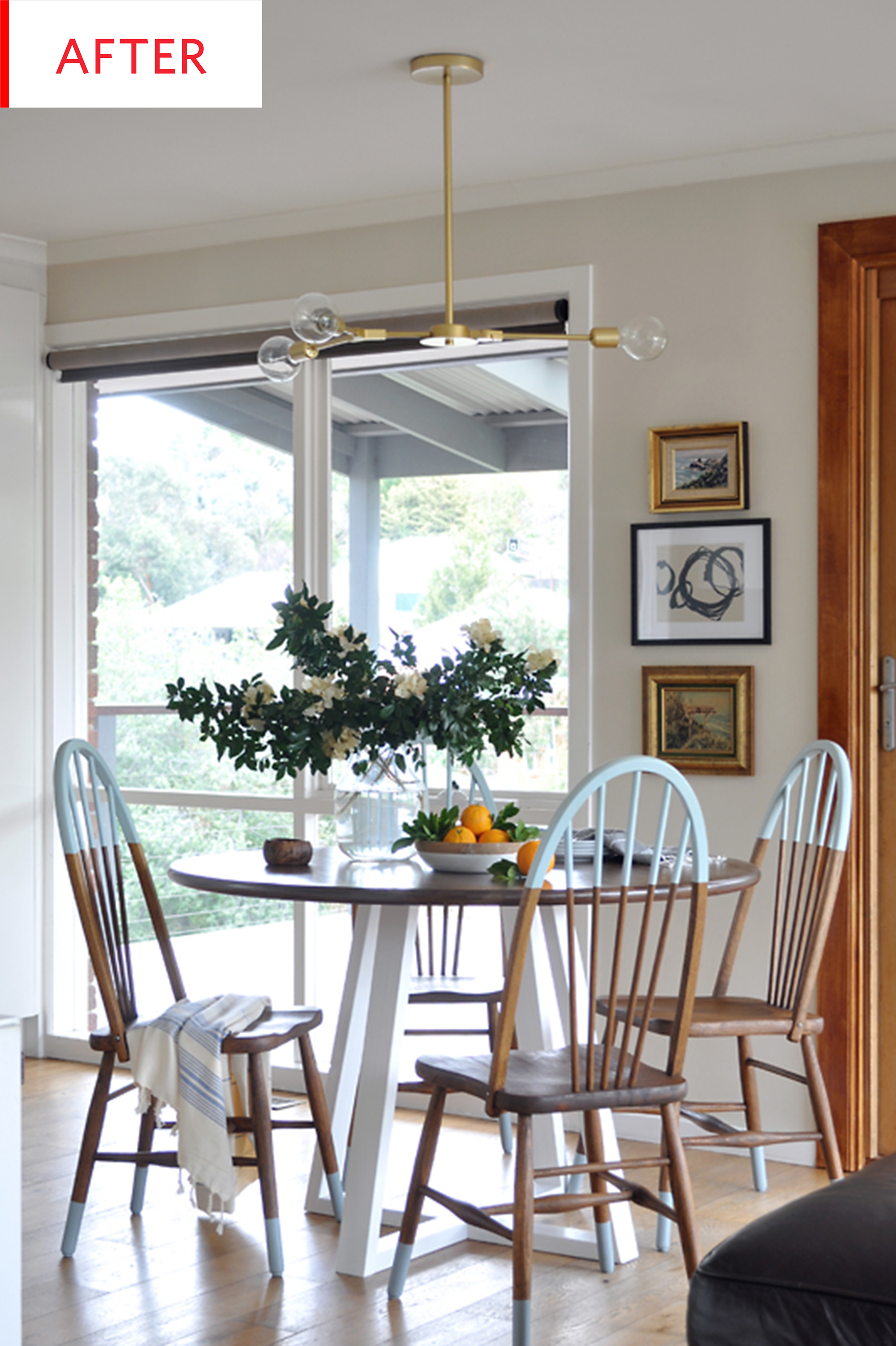 Before and After: A Practically Free Dining Room Redo   Kitchen ...