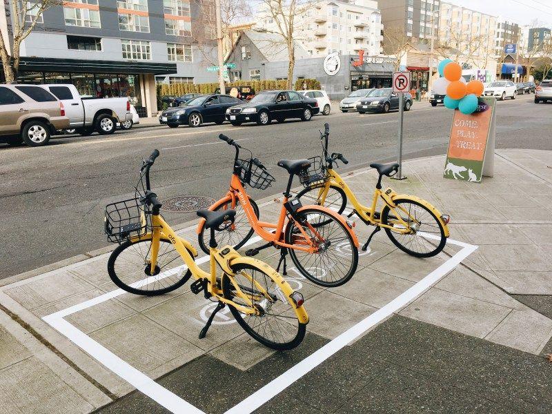 Better Walking Biking And Transit Bike Parking Bike Cool Bikes